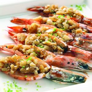奶油核桃焗蝦