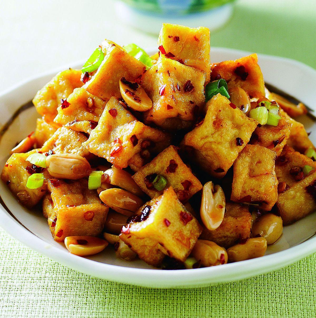 食譜:麻辣豆腐丁