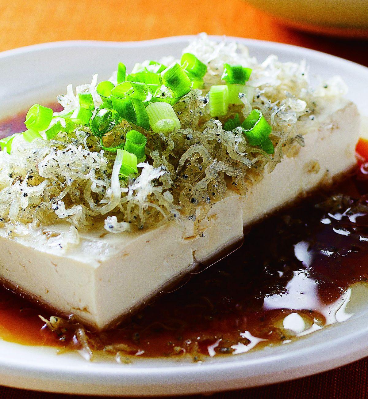 食譜:銀魚豉油豆腐