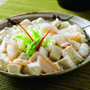 蟹肉燴豆腐