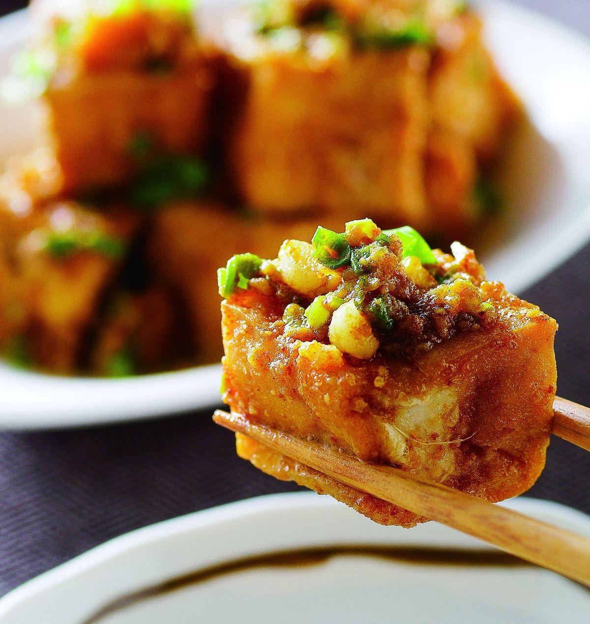 食譜:金沙豆腐(1)