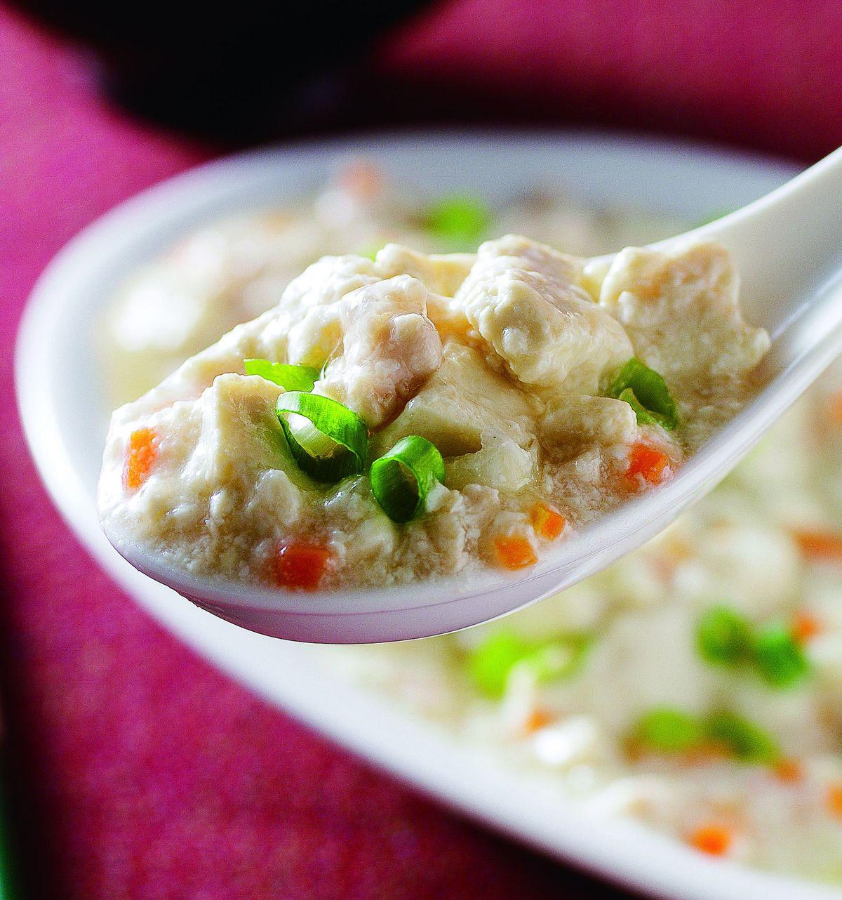 食譜:雞抓豆腐