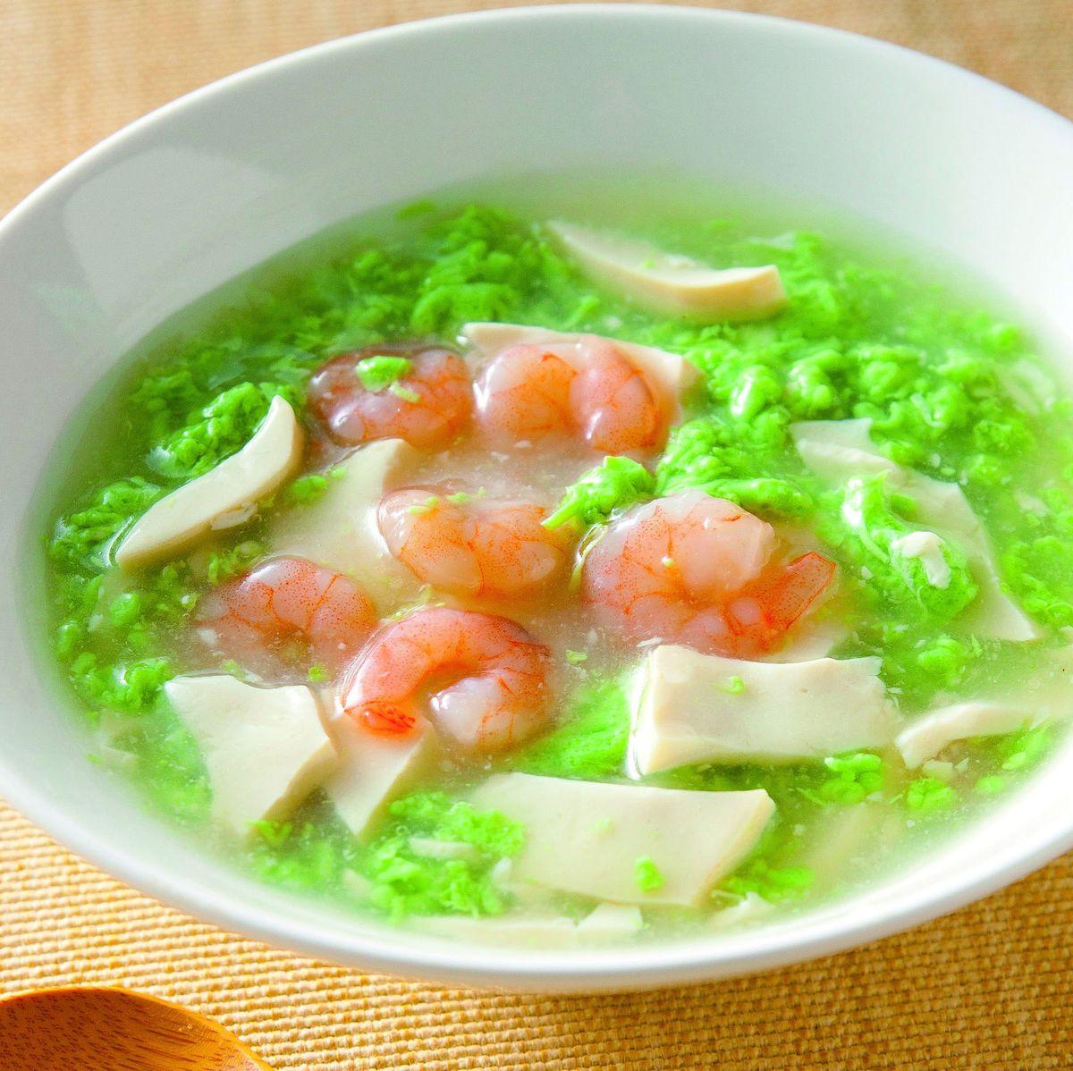 食譜:翡翠豆腐羹(2)