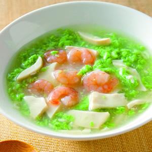 翡翠豆腐羹(2)