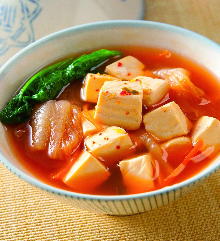 食譜:泡菜豆腐湯