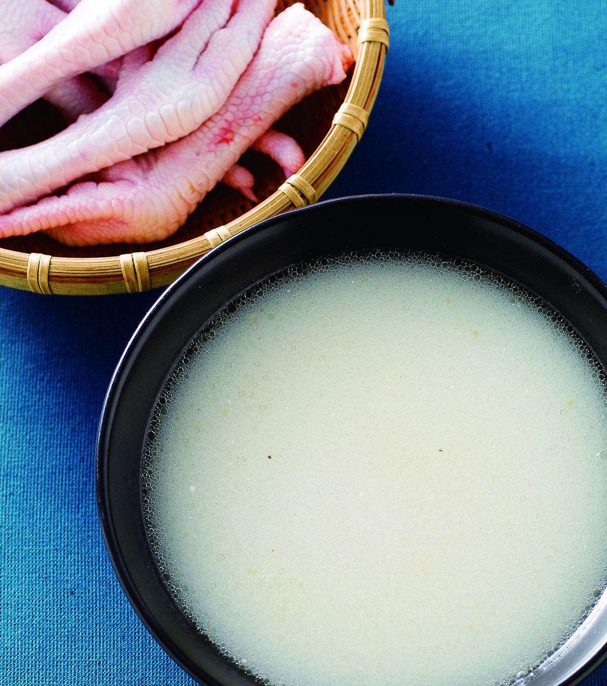 食譜:奶白高湯