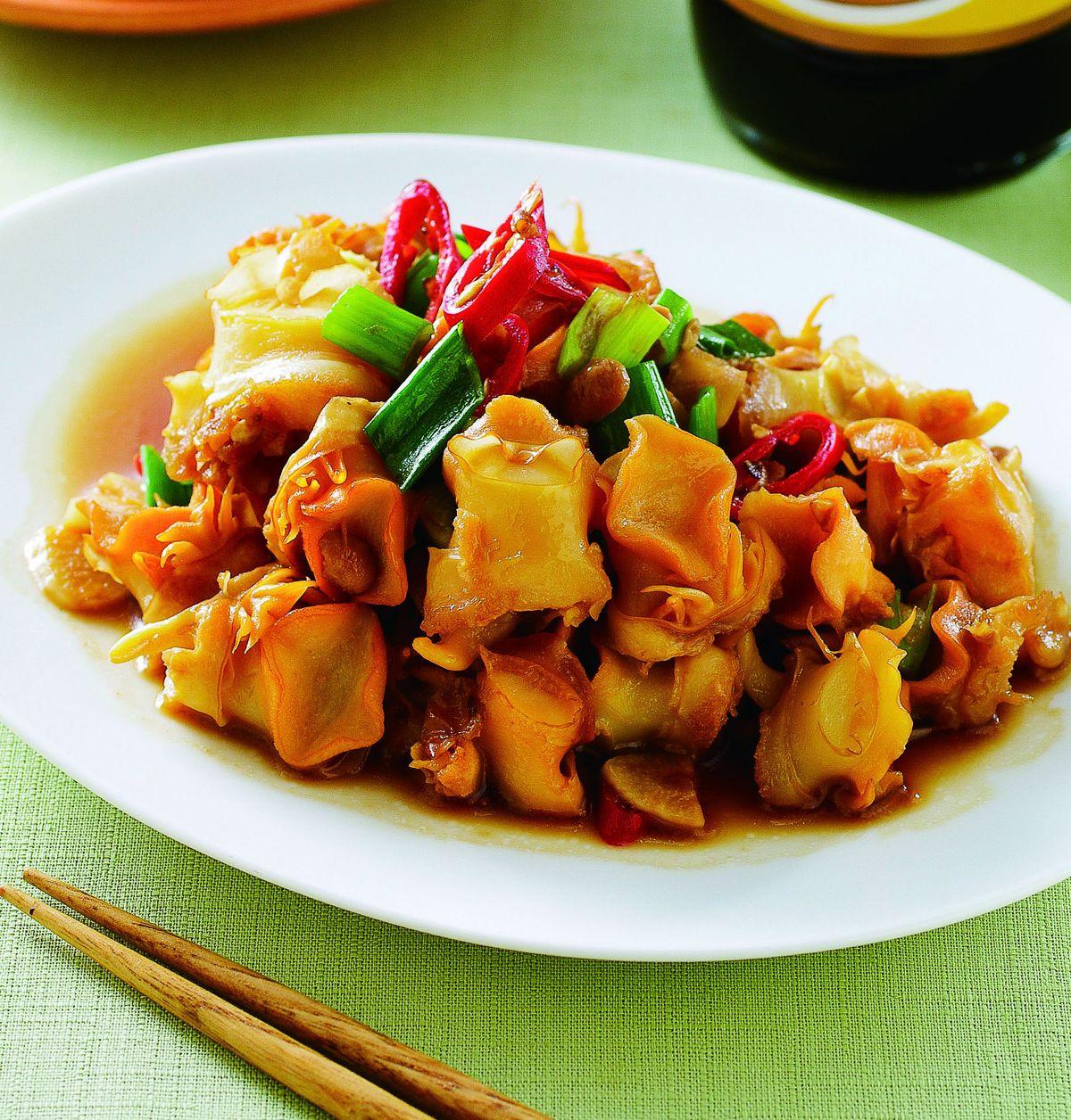 食譜:蒜香炒雪螺