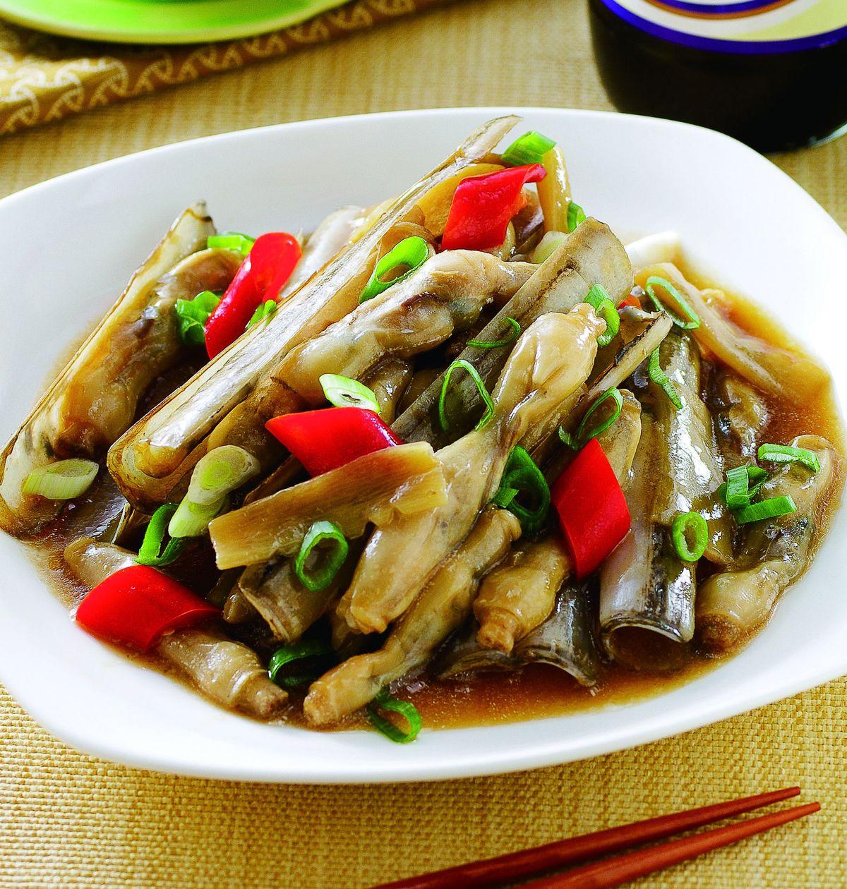 食譜:醬燒竹蛤