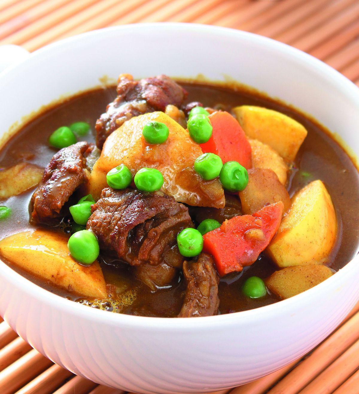 食譜:蘋果咖哩燉牛肉