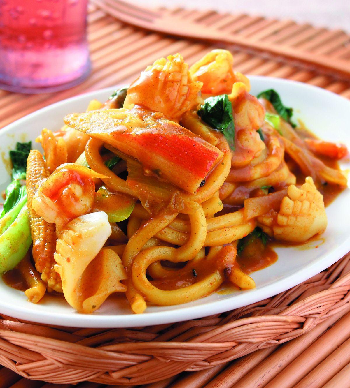 食譜:和風咖哩炒烏龍麵