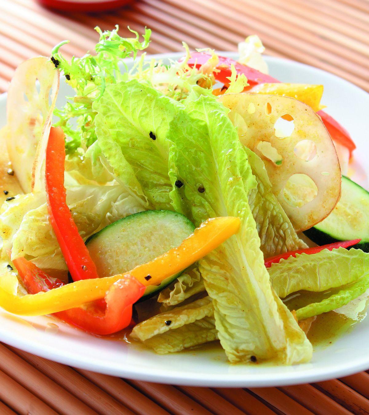 食譜:芥末咖哩鮮蔬沙拉