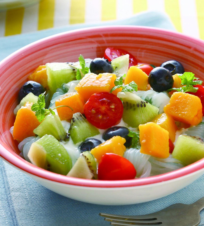 食譜:水果優格涼麵