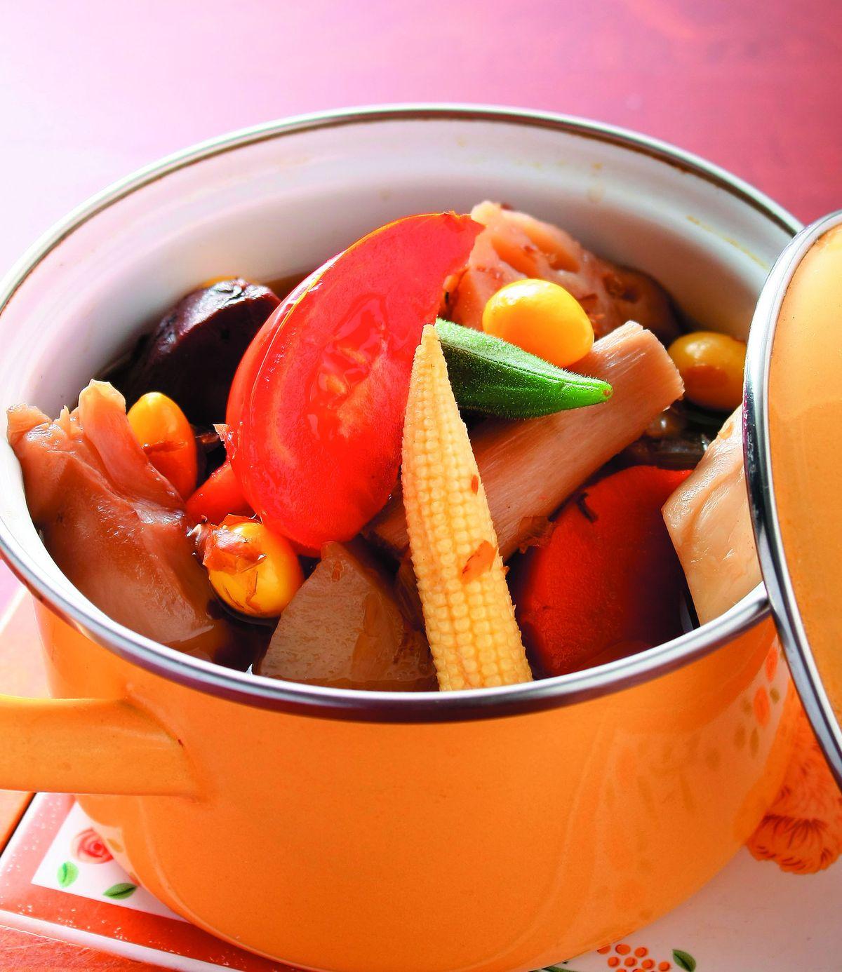 食譜:和風燉蔬菜