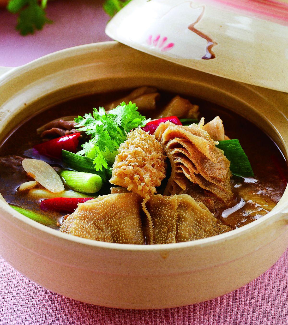 食譜:沙茶牛雜鍋