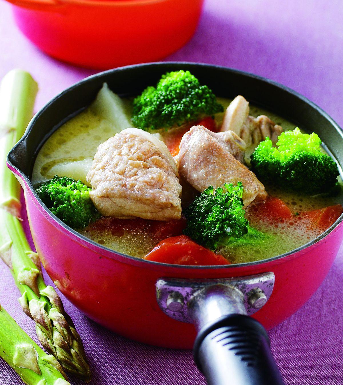 食譜:奶油雞肉鍋