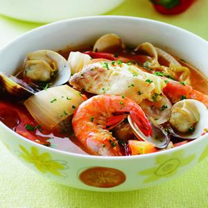 義式茄汁海鮮鍋