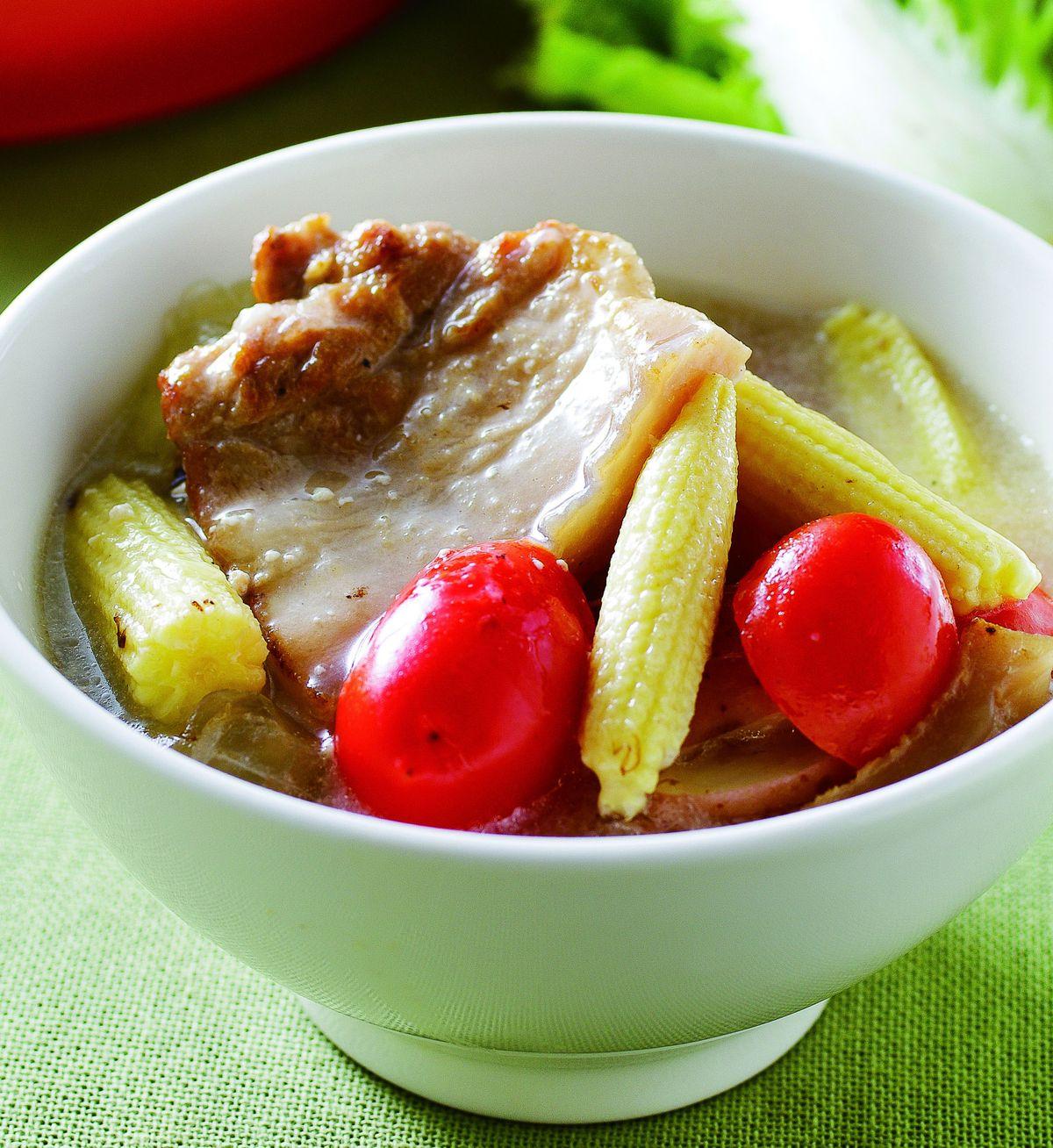 食譜:椰汁豬肉鍋
