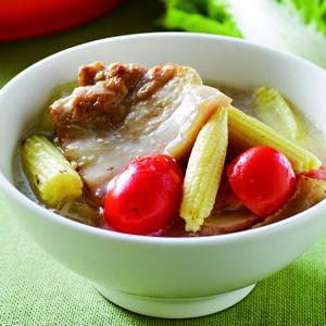 椰汁豬肉鍋
