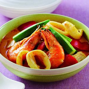 辣椰汁海鮮鍋