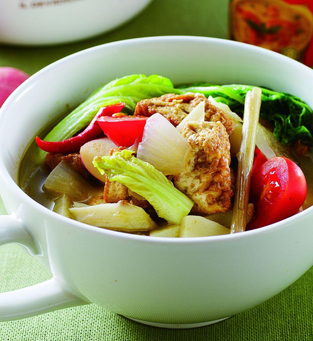 食譜:香茅咖哩鍋