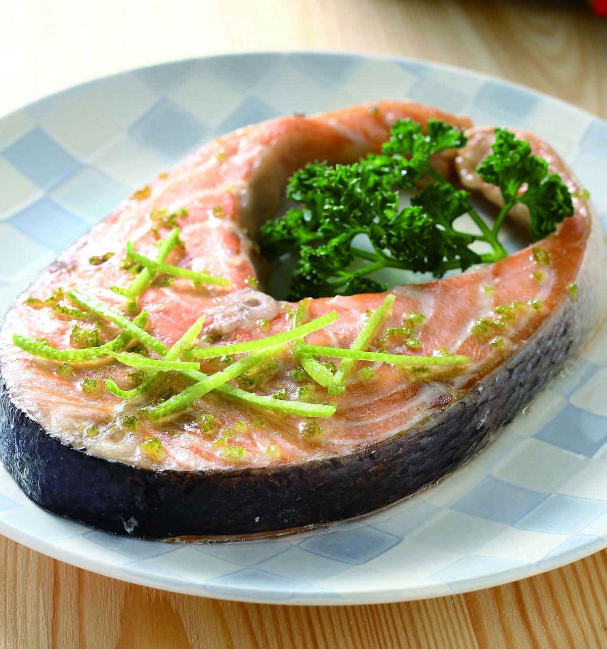 食譜:柚子皮烤魚