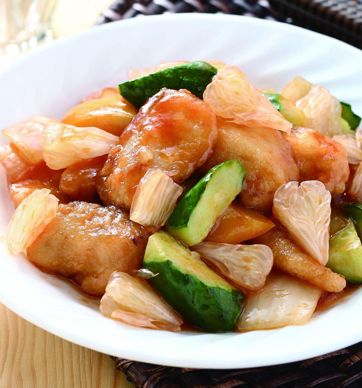 食譜:柚香糖醋魚片