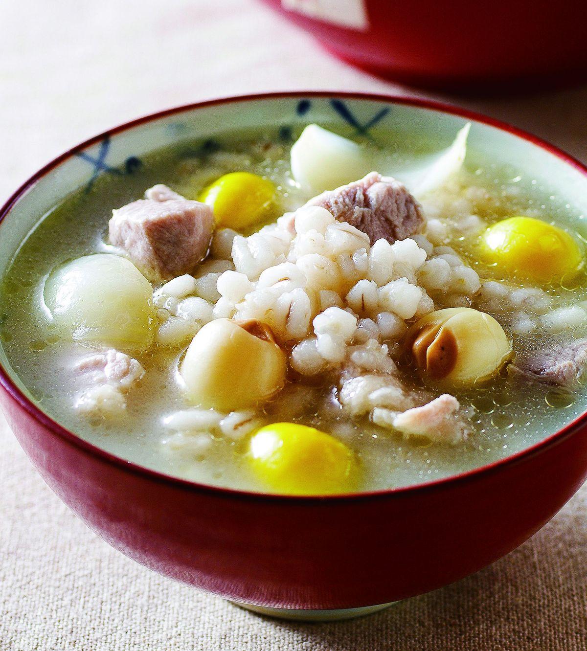 食譜:百合蓮子粥