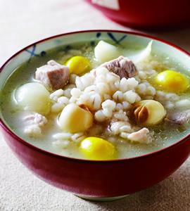 百合蓮子粥