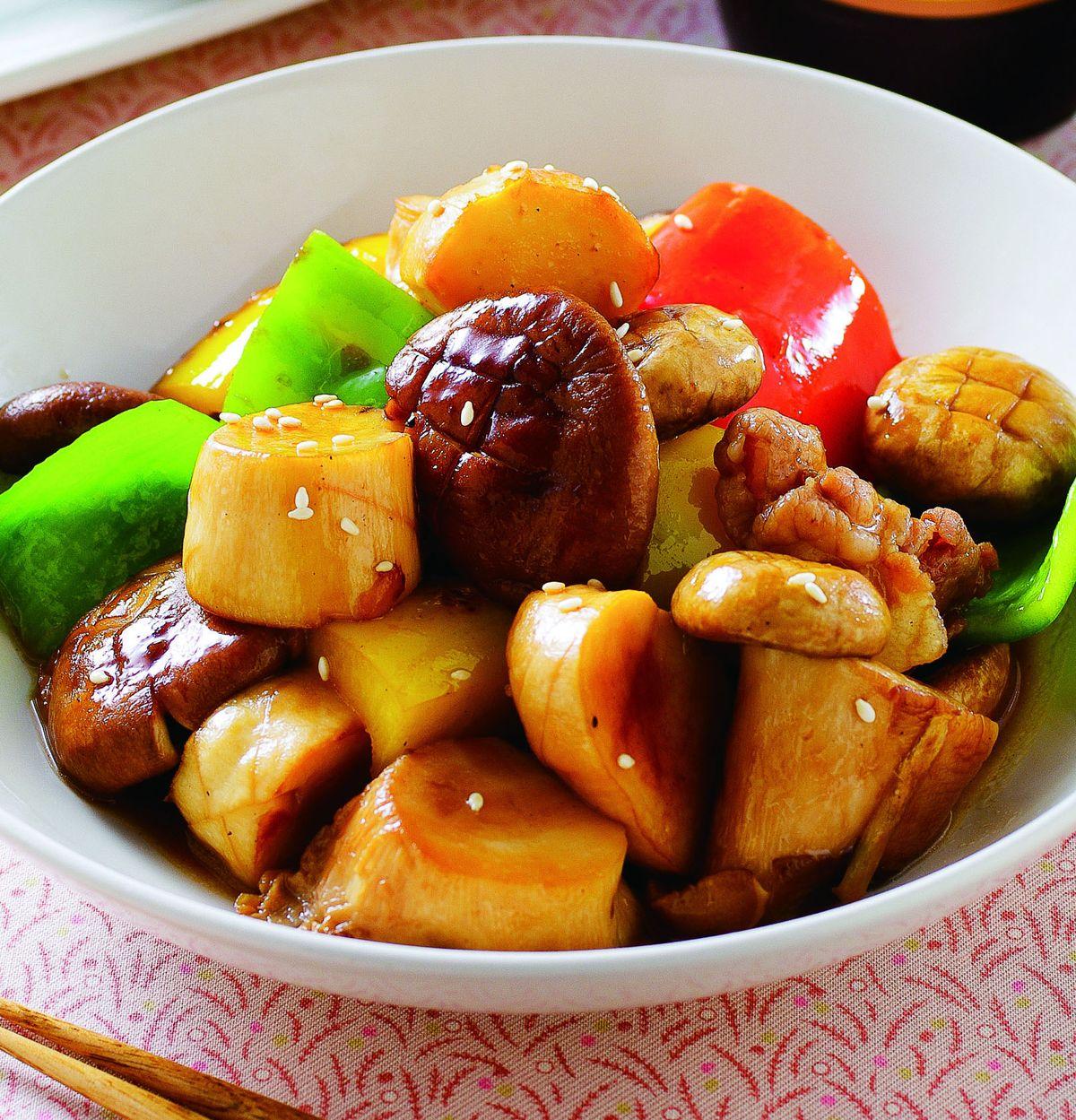 食譜:醬燒鮮菇