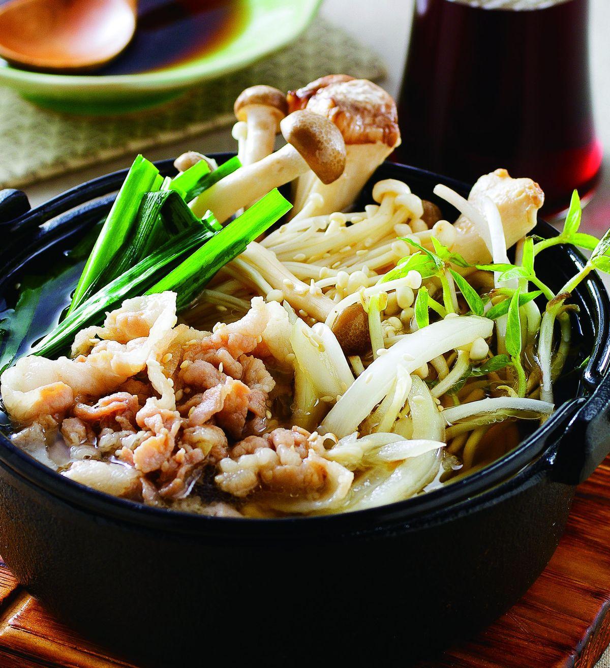 食譜:韓式鮮菇鍋