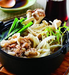 韓式鮮菇鍋