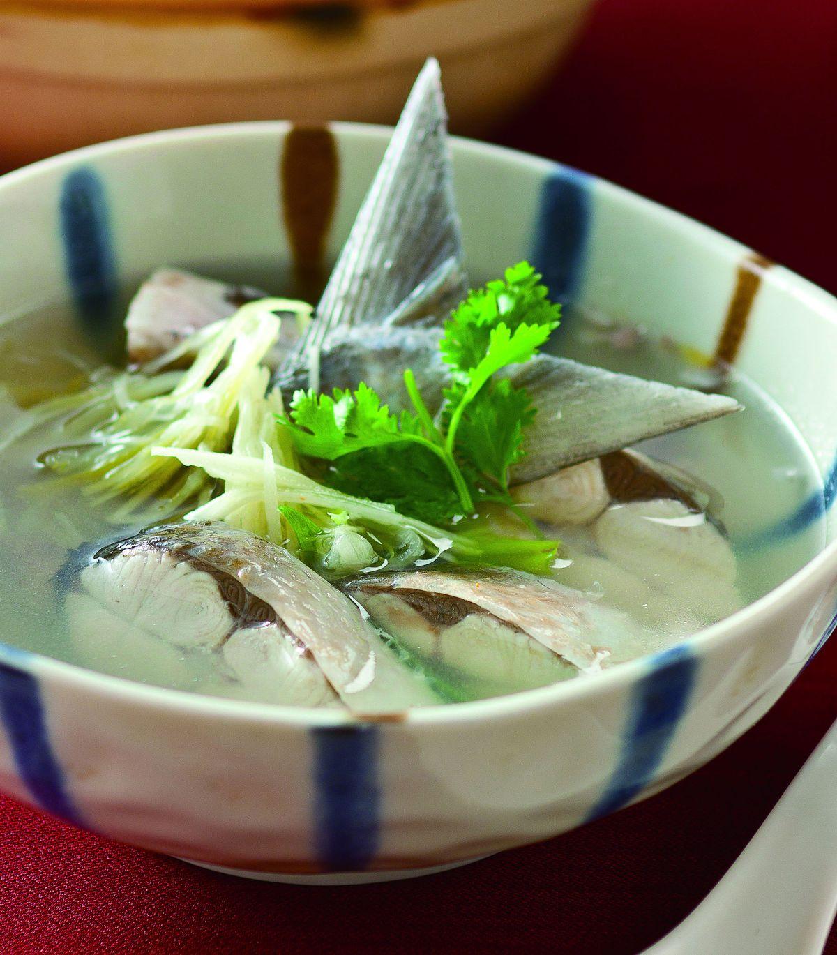 食譜:香菜虱目魚湯