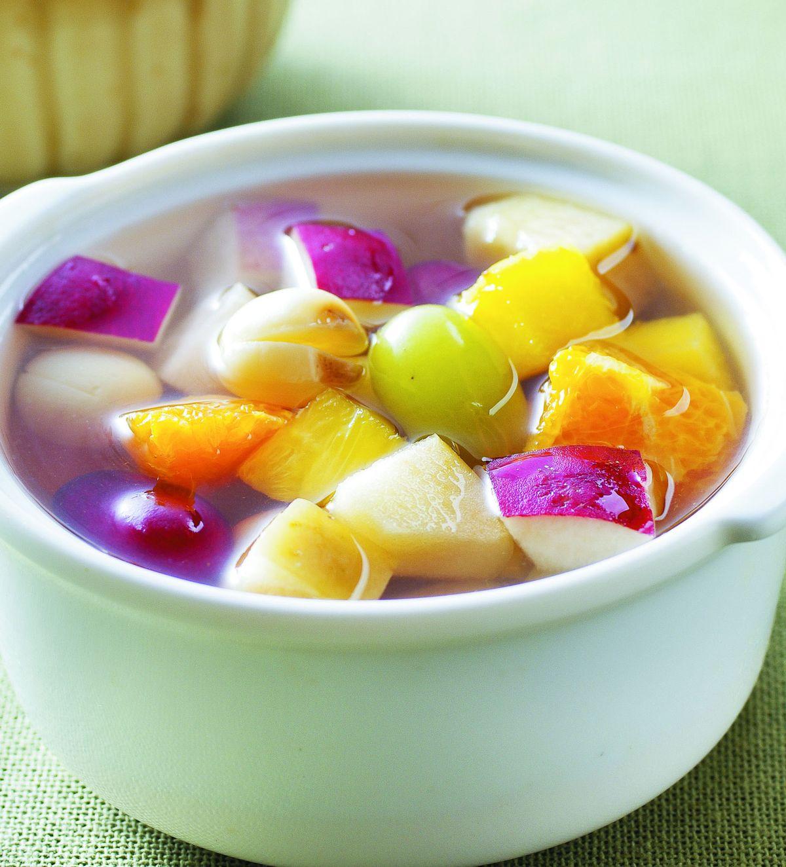 食譜:水果甜湯