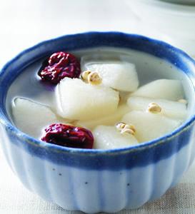 冰糖川貝蜜梨甜湯