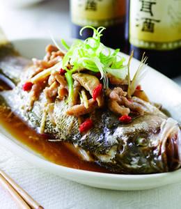 酒香台式蒸魚
