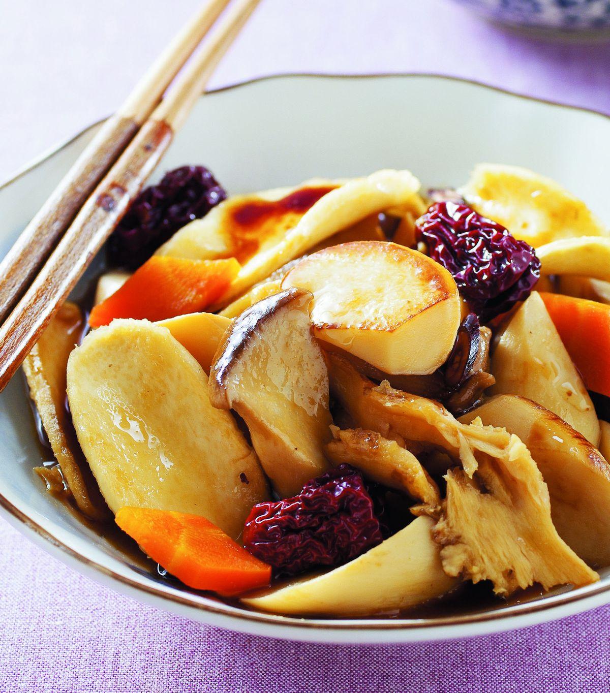 食譜:紅燒當歸杏鮑菇