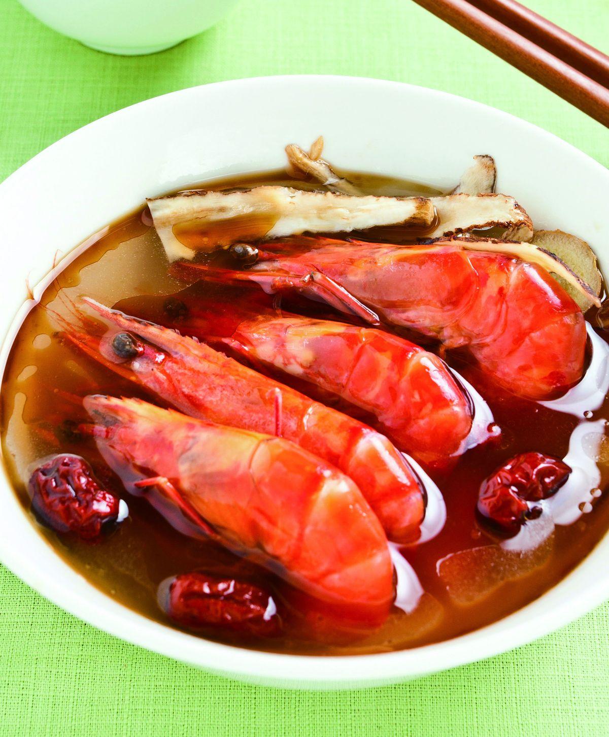 食譜:麻油燒酒蝦(2)