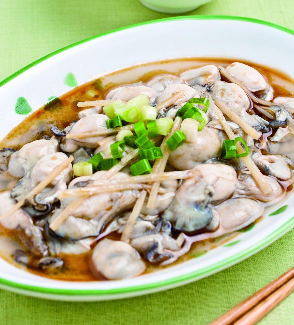 食譜:麻油炒鮮蚵