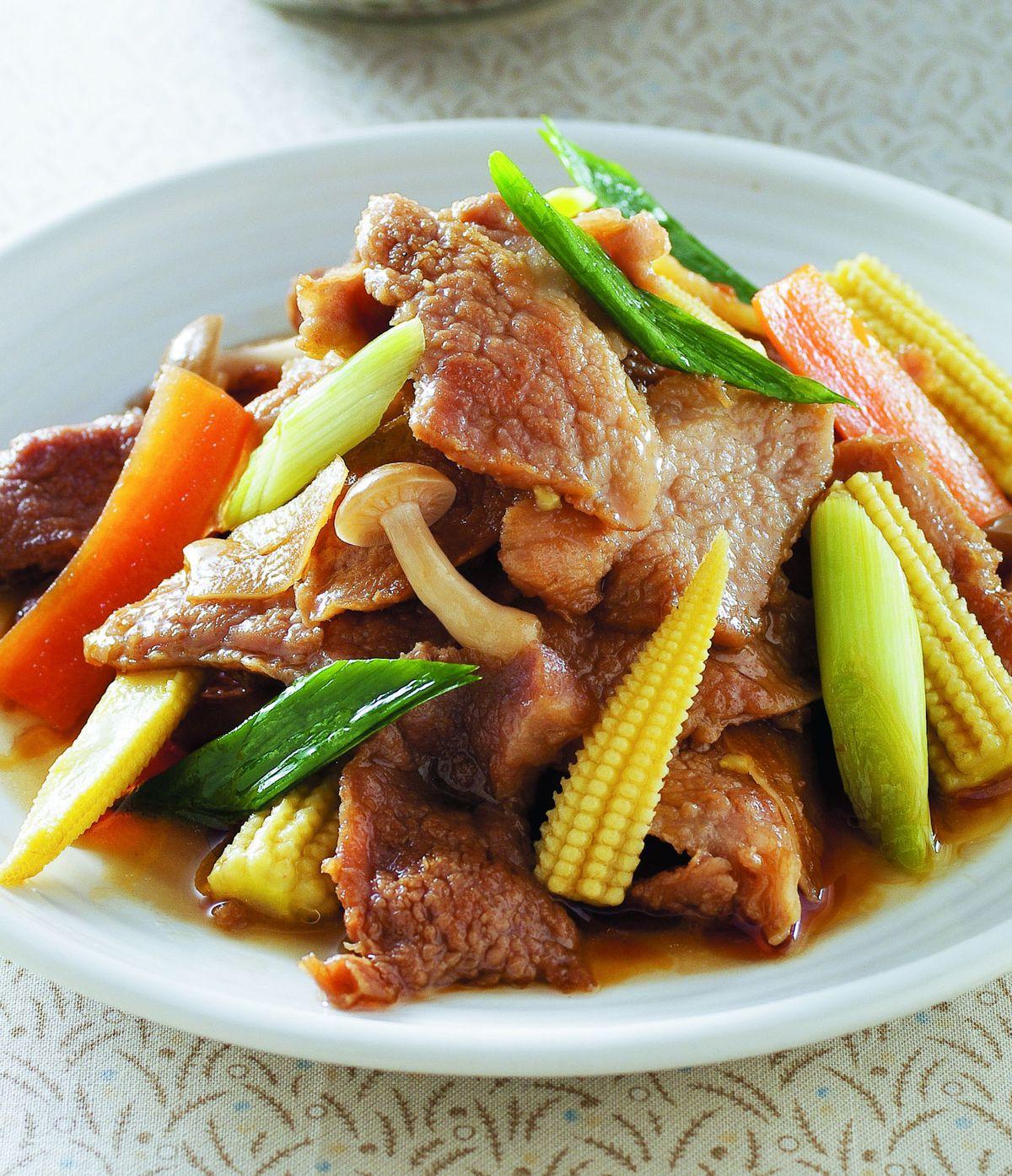 食譜:麻油松阪豬肉