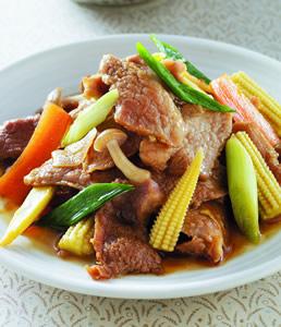 麻油松阪豬肉