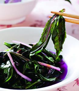 麻油炒紅鳳菜(1)