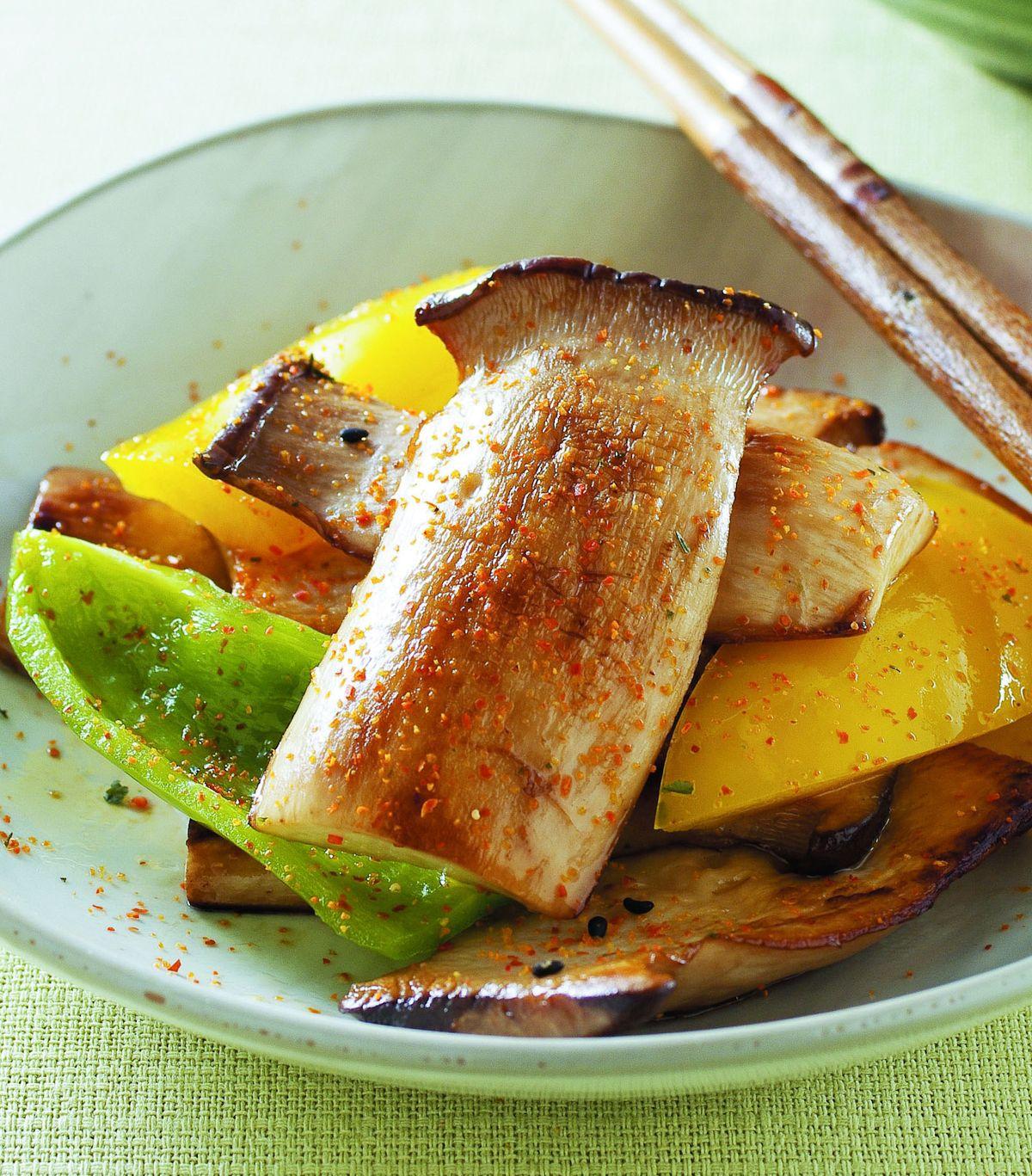 食譜:麻油乾煎杏鮑菇
