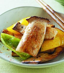 麻油乾煎杏鮑菇