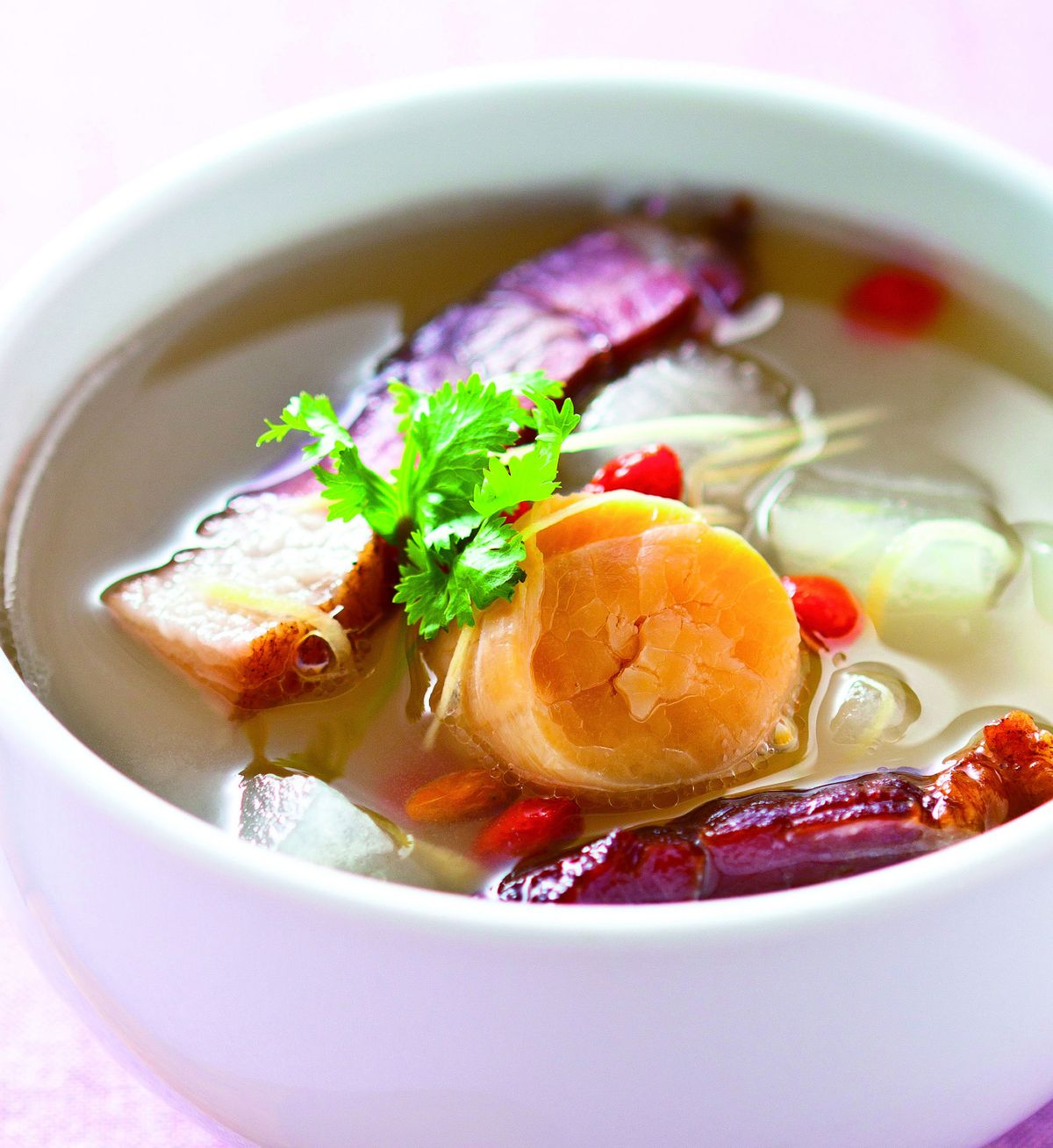 食譜:干貝臘肉冬瓜湯