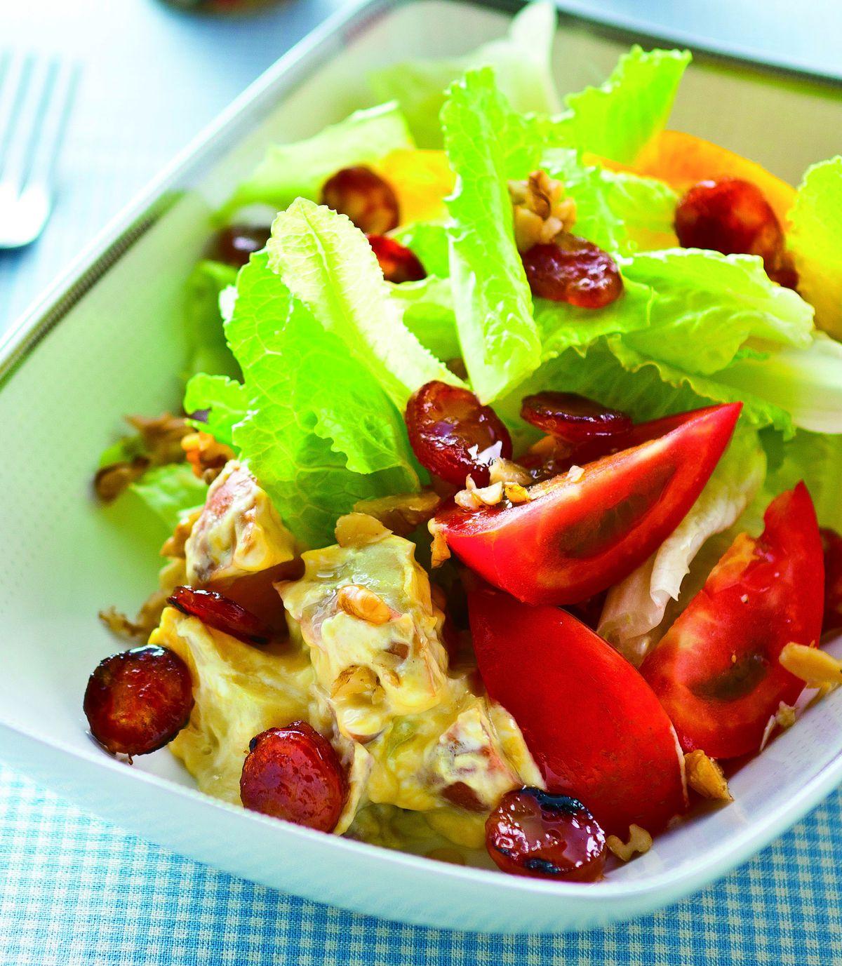 食譜:臘腸沙拉