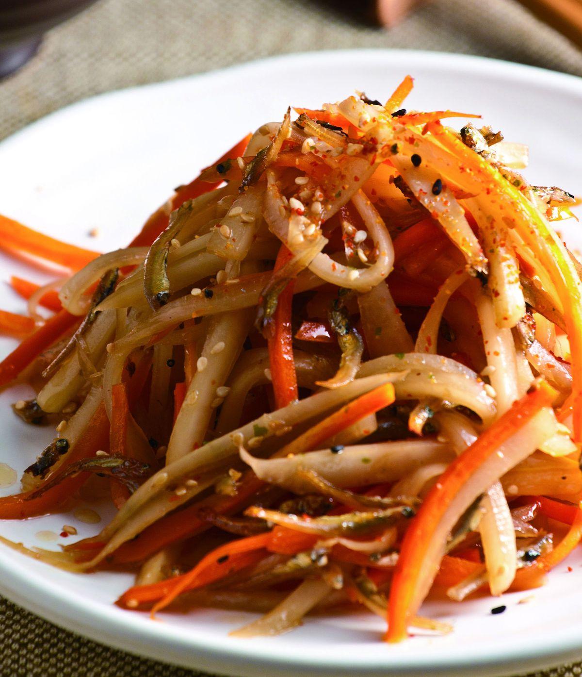 食譜:七味紅白蘿蔔