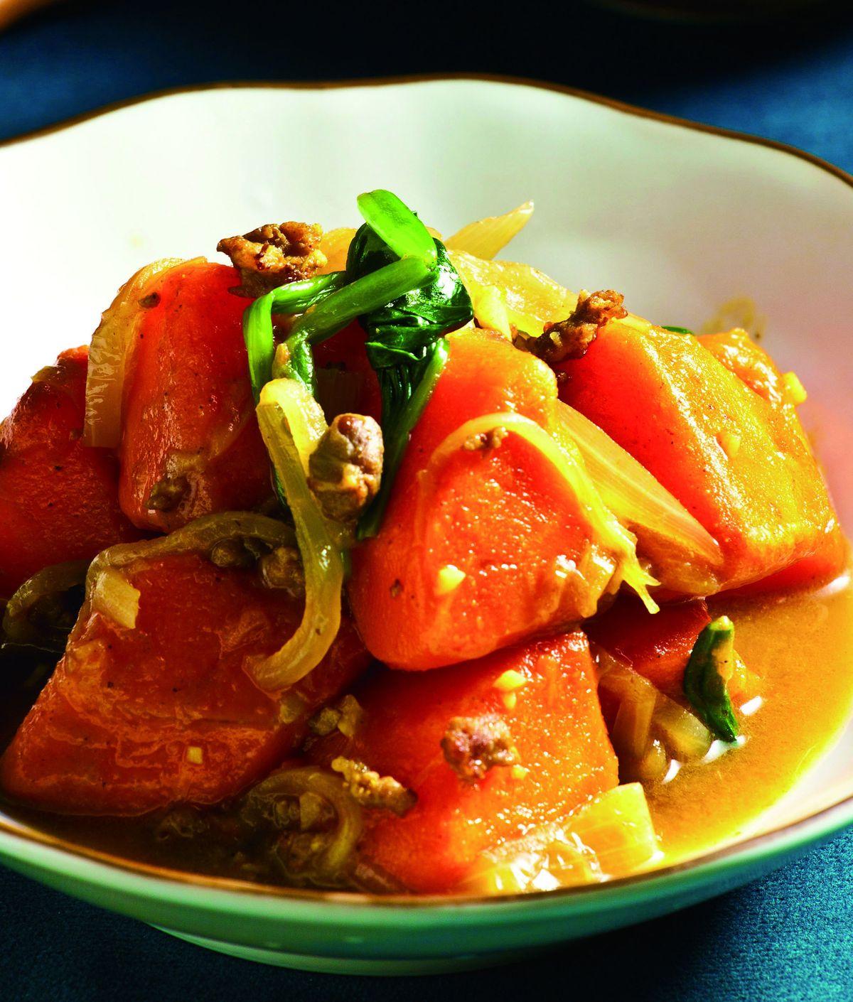 食譜:咖哩風味胡蘿蔔