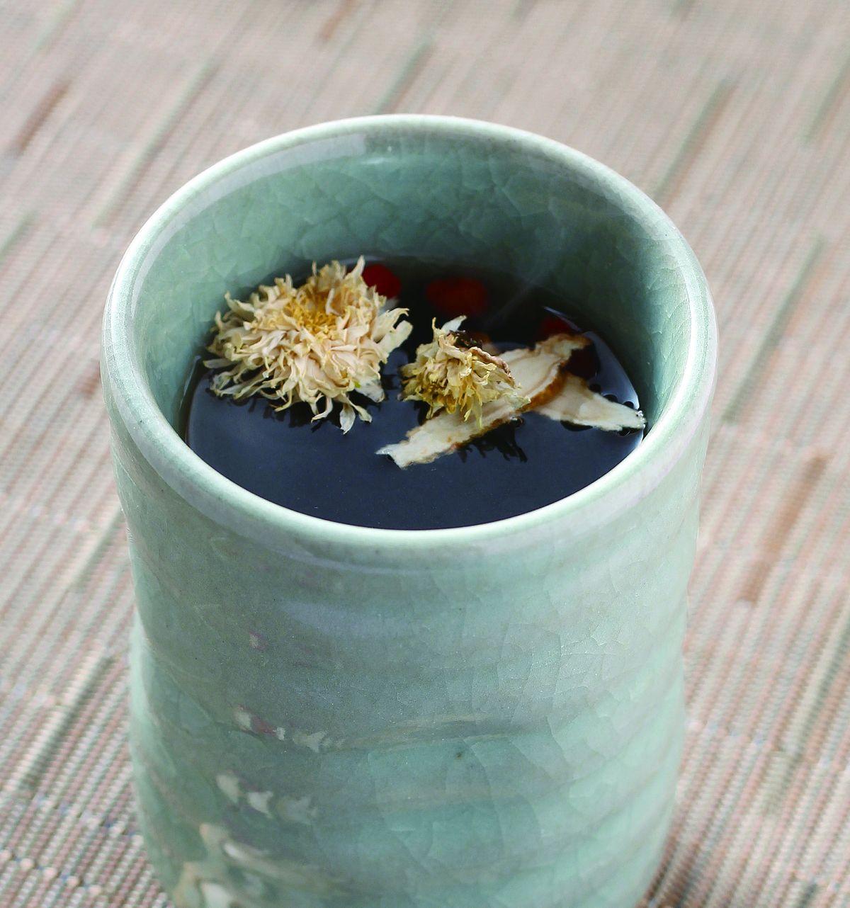 食譜:蔘菊茶