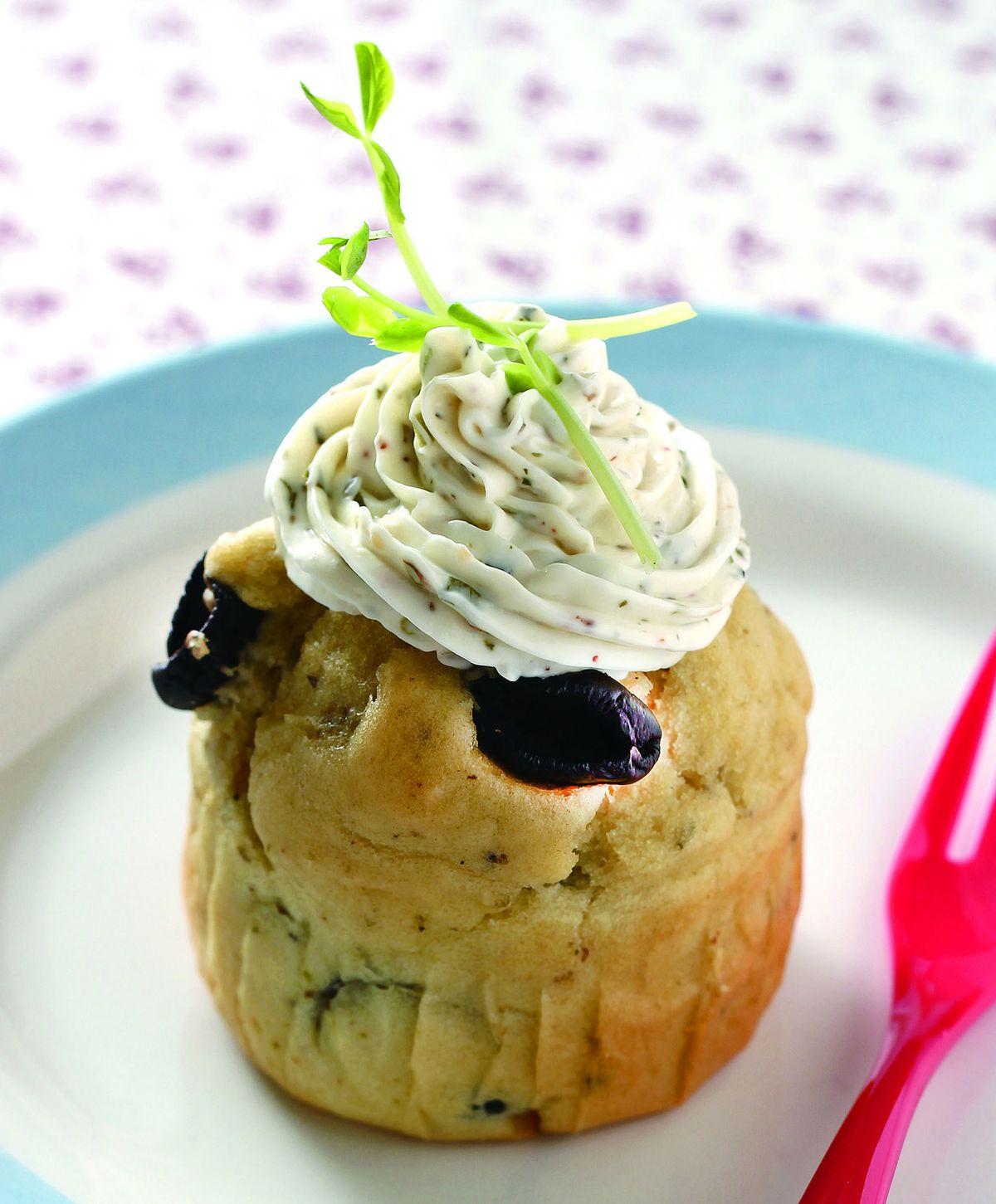 食譜:橄欖奧勒岡鹹味蛋糕
