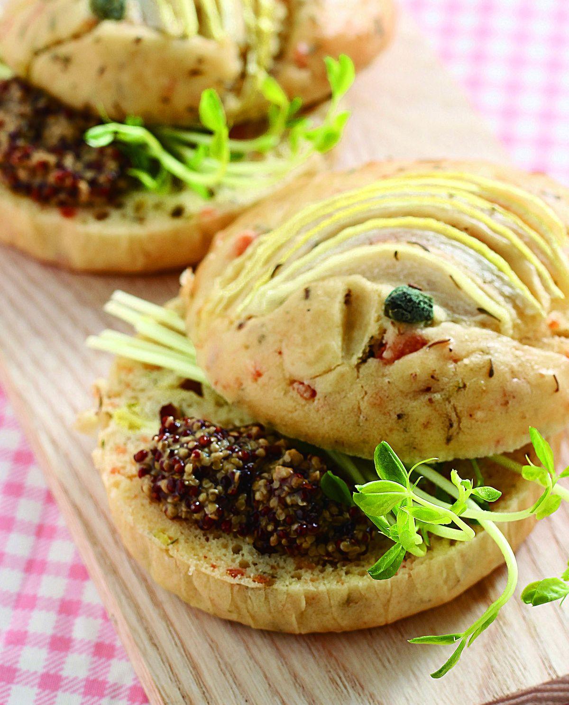 食譜:百里香鮭魚鹹味蛋糕